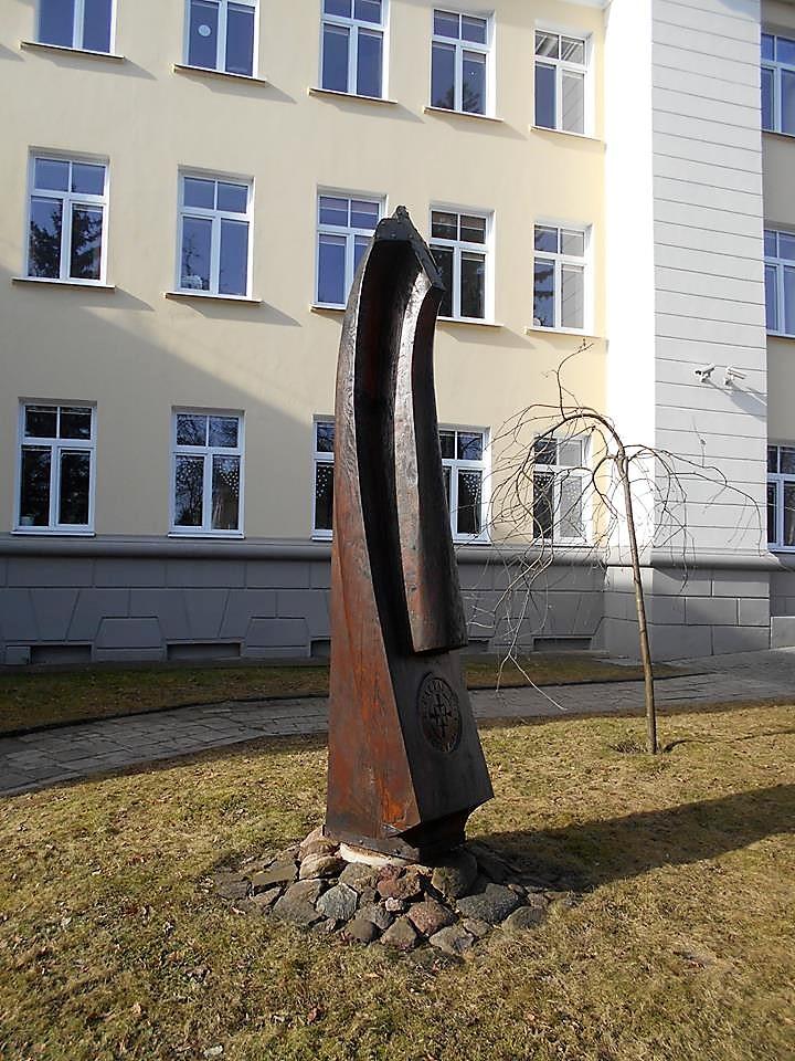 """Skulptūra """"Šventoji dvasia"""". Astos Rimkūnienės nuotrauka"""