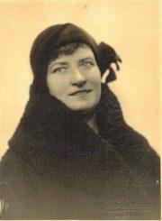 4. Juzė Masiulienė. XX a. 4 deš. Nuotrauka iš K. Masiulytės-Paliulienės archyvo