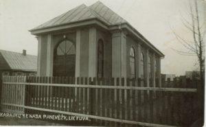 2. Karaimų kenesa Panevėžyje. XX a. 4 deš. Nuotrauka iš D. Grigulevičienės archyvo