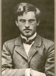 """1. Rašytojas Konstantinas Jasiukaitis, vienas iš """"Panevėžio balso"""" įkūrėjų ir pirmųjų redaktorių"""