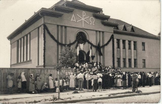 1. Marijonų koplyčia Panevėžyje. Nuotrauka iš M. Dirsės archyvo