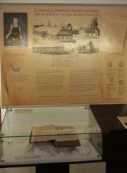"""2. Panevėžio kraštotyros muziejaus ekspozicija """"Upytės bajorai"""" seniausiame Panevėžio pastate (fragmentas). T. Stasevičiaus nuotrauka"""