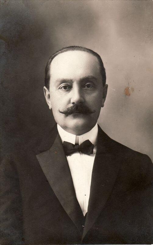 1. Mykolas Konkulevičius – mokyklos įkūrėjas. 1926 m. Nuotrauka iš M. Dirsės archyvo