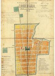 2. Panevėžio planas 1871 m.
