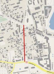 2. Nenutiesta tolesnė naujos gatvės atkarpa. Iš www.miestai.net