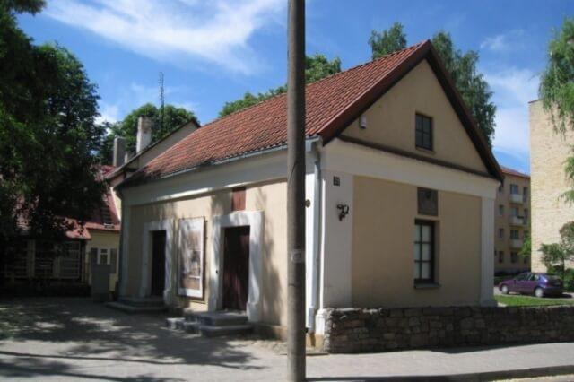 1. Seniausias Panevėžio pastatas