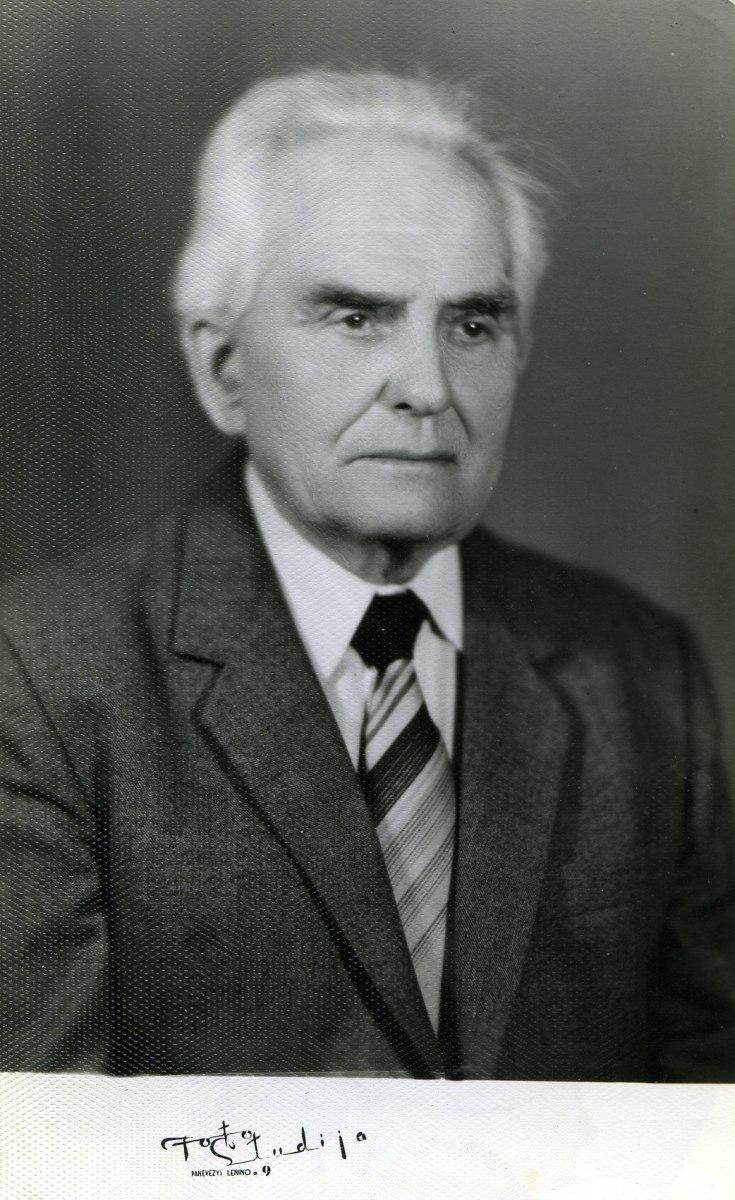 Motiejus Lukšys. 1987 m. Nuotrauka iš Nijolės Lukšytės asmeninio archyvo