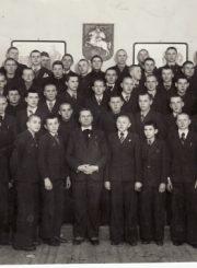 2. M. Karka su jo vadovaujamu choru. XX a. 4 deš. Nuotrauka iš Panevėžio kraštotyros muziejaus fondų