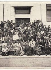 2. Vokiečių kalbos kursai mokytojams Panevėžyje. 1942 m. liepos mėn. Nuotrauka iš S. Banaičio kolekcijos