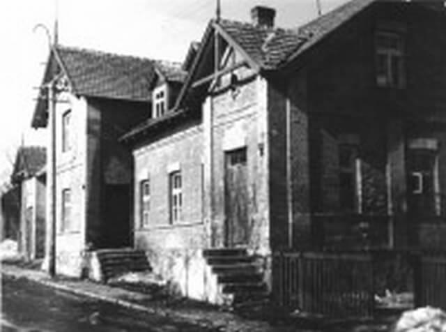 1. Namas, kuriame gyveno Juozas Miltinis ir aktoriai. Nuotrauka iš www.miltinis.lt