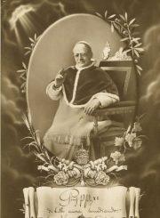 4. Popiežius Pijus XI, įkūręs Lietuvos bažnytinę provinciją. Nuotrauka iš Panevėžio vyskupijos archyvo