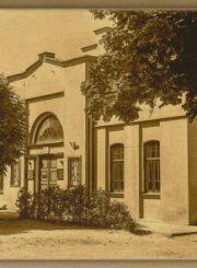 Senasis Panevėžio teatro pastatas archyvų dokumentuose
