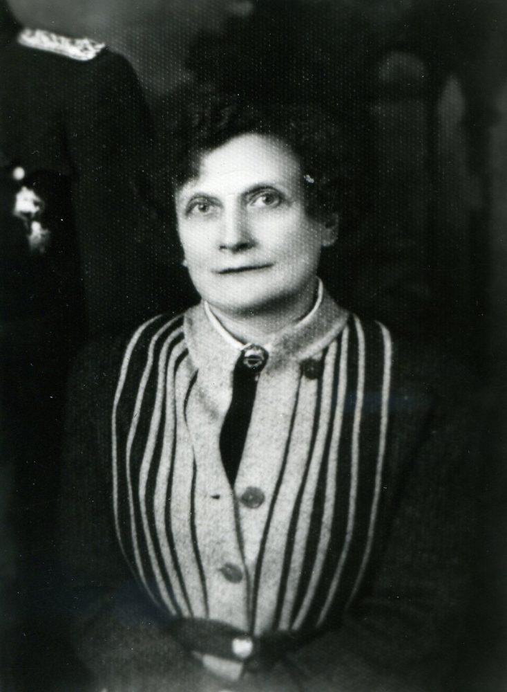 Elžbieta Jodinskaitė. Apie 1930 m., Panevėžys