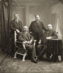 Visą gyvenimą J. Vileišiui talkino broliai: inžinierius Petras, gydytojas Antanas, ūkininkas Anupras. Iš: http://www.yrasalis.lt/naujienos/lietuva-atkure-vyrai-19-jonas-vileisis/