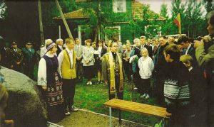 1998 m. rokiškėnai V. Mirono atminimą įamžino paminkliniu akmeniu Kuodiškių vienkiemyje, Pandėlio seniūnijoje, jo gimtosios sodybos vietoje. Iš: http://www.muziejusrokiskyje.lt/apie-muzieju/ekspedicijos-tyrimai/rokiskenai-kure-nepriklausoma-lietuvos-valstybe