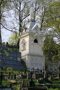 Vileišių koplyčia Vilniaus Rasų kapinėse. Iš: http://www.vileisiai.lt/index.php/apie-brolius-vileisius/vileisiu-koplycia/galerija/598