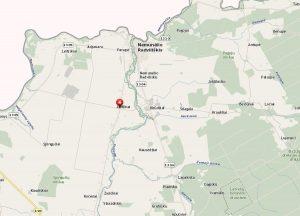 Gimtieji J. Šerno Jasiškiai žemėlapyje. Iš: http://www.maps.lt/map/default.aspx?lang=lt#q=jasi%c5%a1kiai