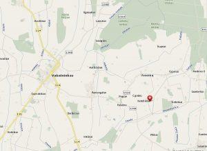 Kateliškiai žemėlapyje. Iš: http://www.maps.lt/map/default.aspx#q=kateli%C5%A1kiai