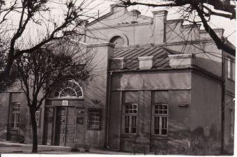 Senasis Panevėžio dramos teatras (1940–1967 m.). Apie 1966 m. PAVB FJM-868/1