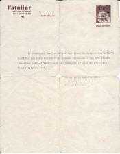 Paryžiaus Atelier teatro direktoriaus Šarlio Diuleno (Charles Dullin) 1936 m. spalio 29 d. išduotas pažymėjimas patvirtina, jog Juozas Miltinis lanko Atelier mokyklos paskaitas nuo 1933 m. spalio mėn. PAVB FJM-5/5