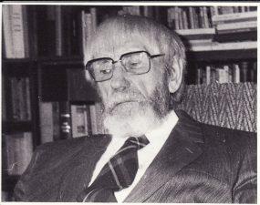 Juozui Miltiniui – 85. 1992 09 03. Fotogr. Juozo Šlivinsko. PAVB FJM-1015/5