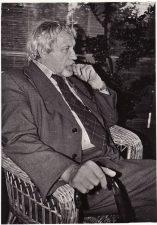 Juozas Miltinis Palangoje. 1979 m. Fotogr. Romualdo Rakausko. PAVB FJM-830/1