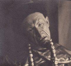 """Juozo Miltinio pirmasis vaidmuo Šiaulių dramos teatre – Tartalija spektaklyje """"Princesė Turandot"""". 1931 m. PAVB FJM-1019/7"""