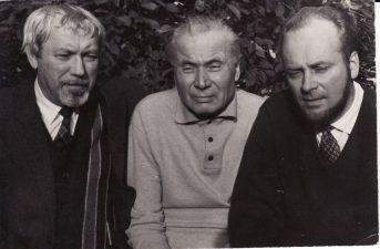 Juozas Miltinis, Juozas Grušas ir Algimantas Mikėnas. PAVB FJM-1013/46