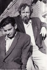 Juozas Miltinis ir Vaclovas Blėdis. 1956 06 30. Fotogr. Kazimiero Vitkaus. PAVB FJM-1018/7