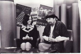 J. Miltinio–Volponės interviu Majai Augskalnei (Rygos televizija). 1973 11 26. Fotogr. Kazimiero Vitkaus. PAVB FKV-371/1