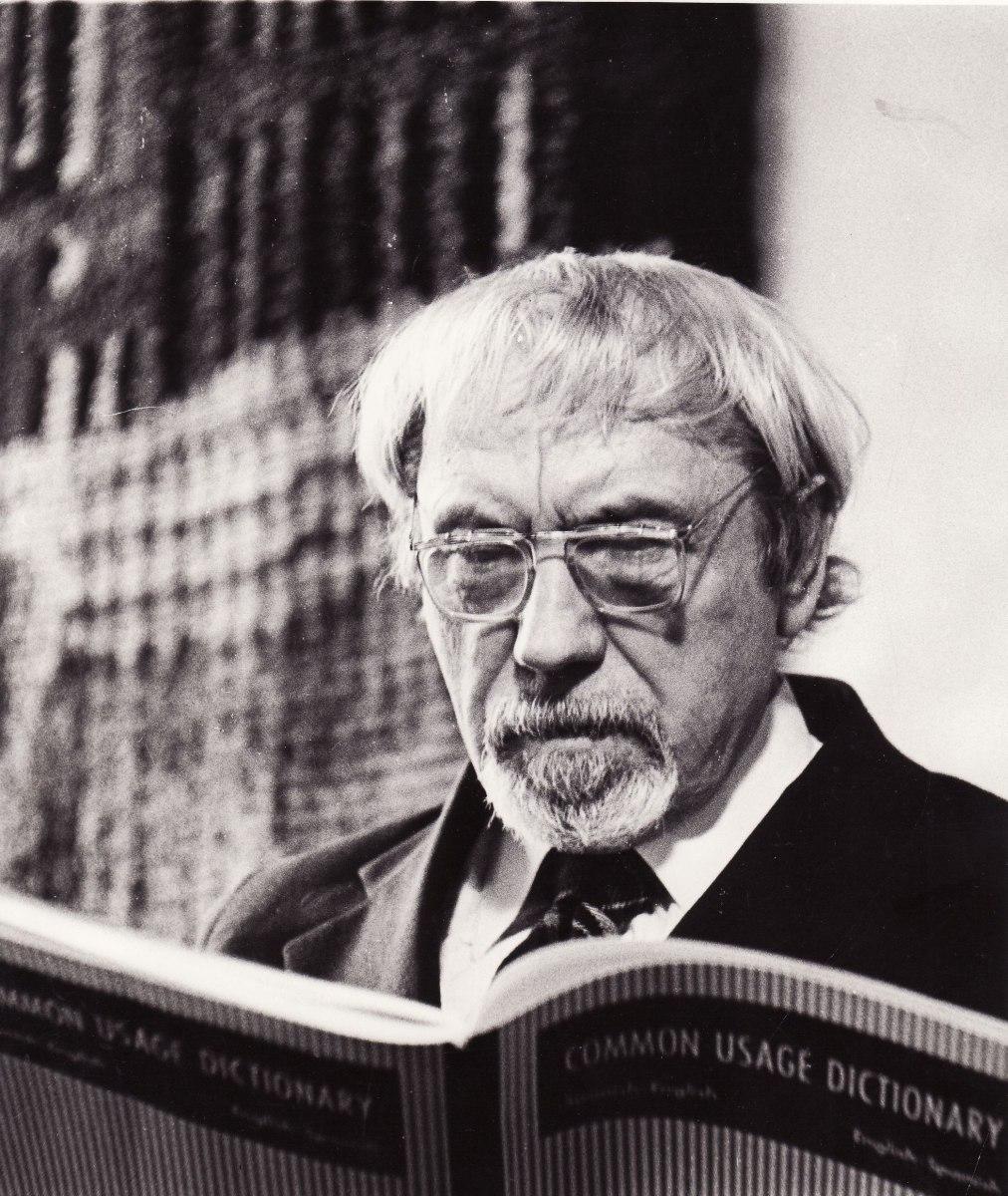 Juozas Miltinis. Panevėžys, 1977 m. Fotogr. Algimanto Žižiūno