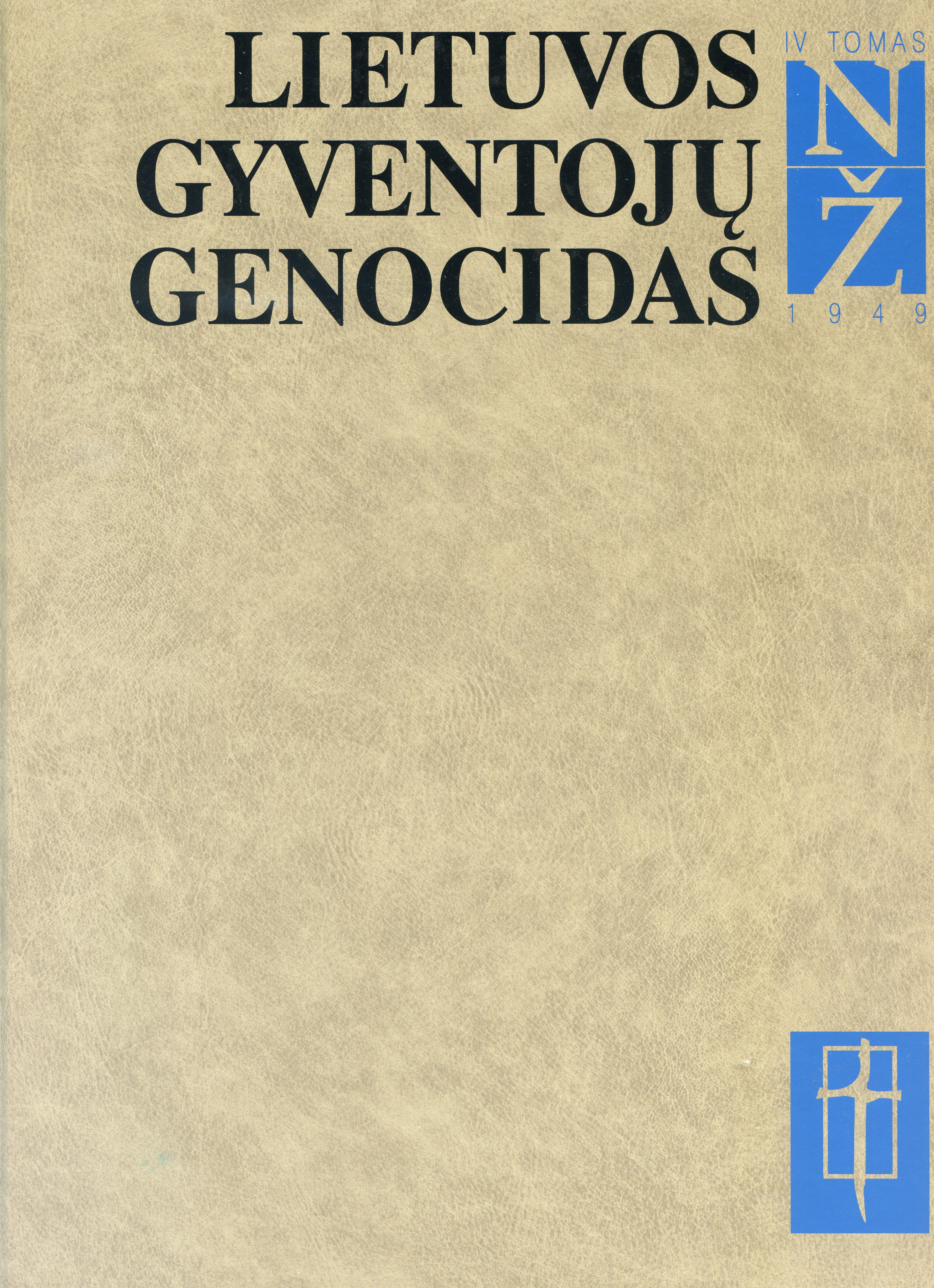 Lietuvos gyventoju genocidas