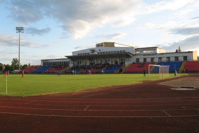 """1. Panevėžio """"Aukštaitijos"""" stadionas. L. Kaziukonio nuotrauka"""