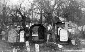 2. Panevėžio žydų kapinės tarpukaryje. Nuotrauka iš internetinio puslapio www.kpd.lt