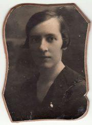 3. Moterų ir merginų komisijos pirmininkė Felicija Rogalskytė. Nuotrauka iš privačios kolekcijos