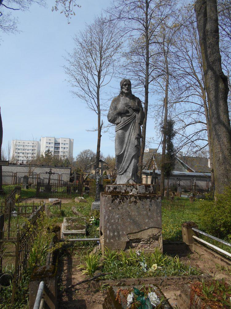 Šv. Jėzaus Kristaus širdies skulptūra. Astos Rimkūnienės nuotrauka