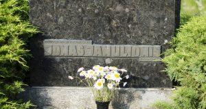 Jono Janulionio antkapinis paminklas. Astos Rimkūnienės nuotrauka
