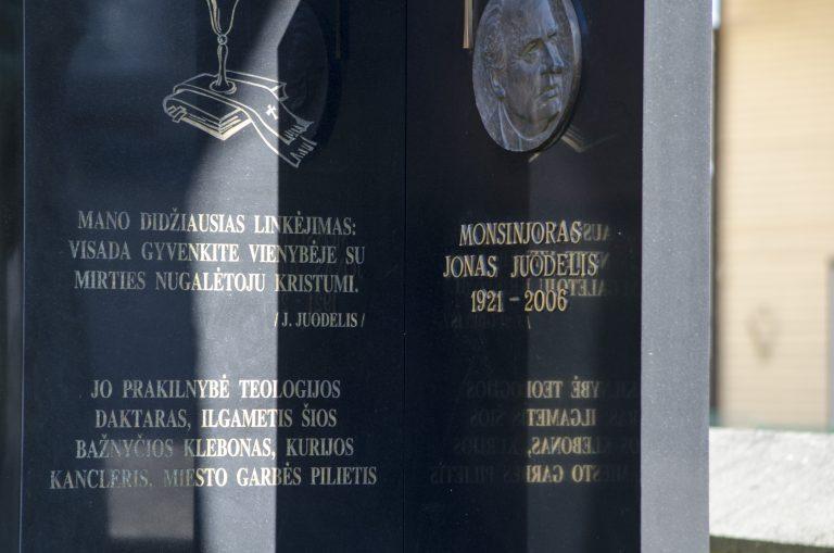 Jono Juodelio antkapinis paminklas. Astos Rimkūnienės nuotrauka