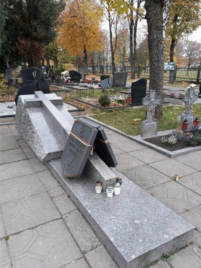 Paminklas Lietuvos partizanams. Astos Rimkūnienės nuotrauka