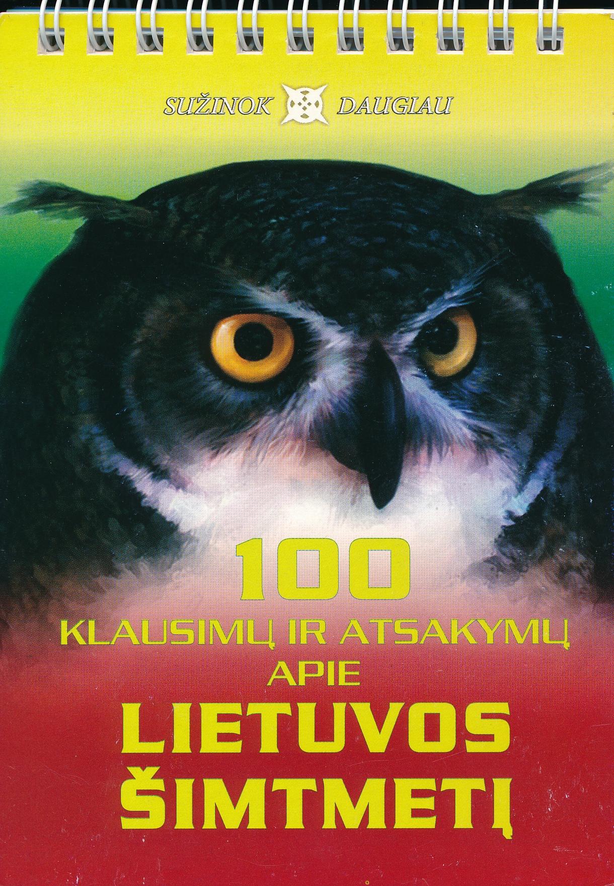 100 klausimų ir atsakymų apie Lietuvos šimtmetį