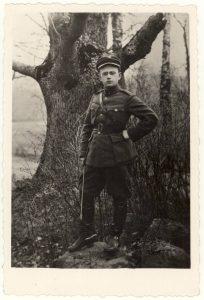 Karininkas Vincas Jonuška. [1919]. PAVB F52-6