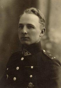 Karininkas Adomas Lastauskas. Panevėžys. 1931 08 23. PAVB F96-376