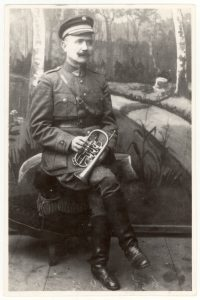 Choro dirigentas, vargonininkas, kompozitorius Juozapas Gudavičius. Apie 1920 m. PAVB F103-35