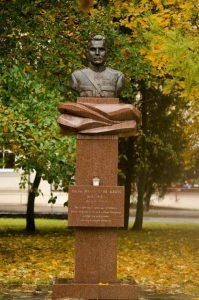 Paminklas Jonui Variakojui Panevėžyje. A. Rimkūnienės nuotrauka