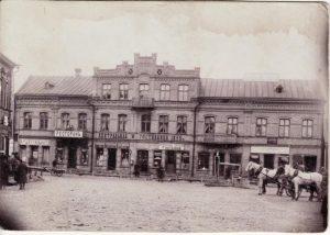M. Rosako namas. Nuotrauka iš: http://aina.lt/m-rosako-namas-panevezyje-kuriame-pirmakart-suplevesavo-trispalve/