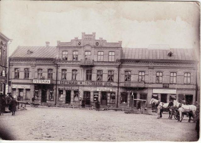 M. Rosako namas. Nuotrauka iš Panevėžio kraštotyros muziejaus rinkinių