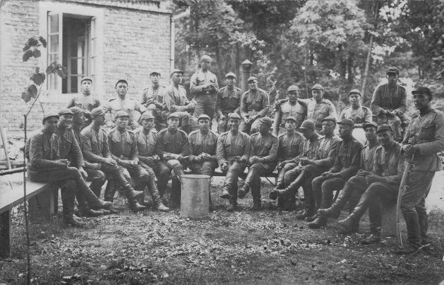 1. Pirmojo artilerijos pulko kariai. 1936 m. Nuotrauka iš privačios kolekcijos