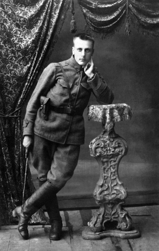 Savanoris Stasys Banelis. 1919 m. Nuotrauka išPanevėžio kraštotyros muziejaus rinkinio