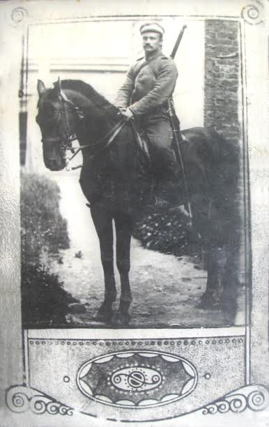 1. Savanoris Ignas Taruška. 1921 m. Nuotraukaiš V. Kavaliausko kolekcijos