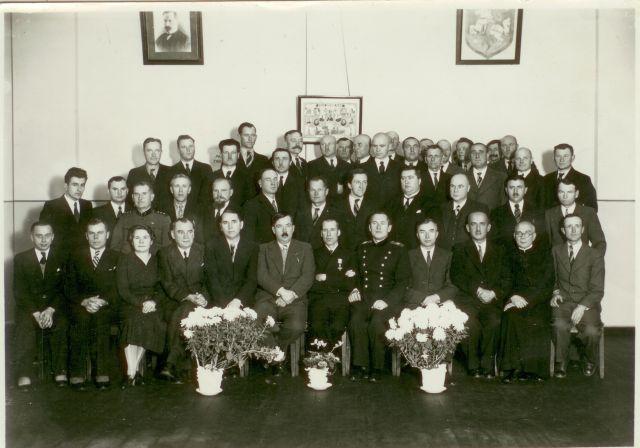 1.Panevėžio apskrities inžinierius Kazys Germanas su Panevėžio miesto vadovais ir aktyviais panevėžiečiais. Kazys Germanas –pirmoje eilėje septintas iš kairės. Nuotrauka iš privačios kolekcijos